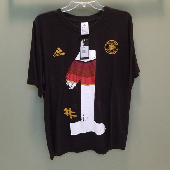 Rare! Adidas Germany World Cup Champions Tee NWT